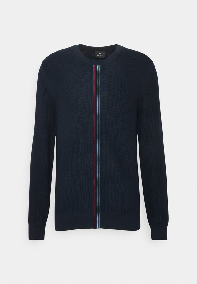Pullover - dark blue, red