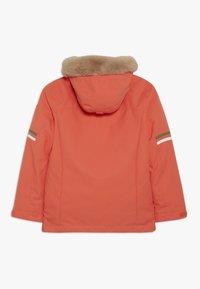 Ziener - ATHILDA JUNIOR - Ski jacket - coral - 1