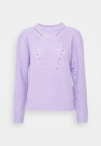 VIESTA PUFF SLEEVE  - Trui - lavender