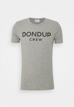 T-SHIRT - T-shirts med print - grey