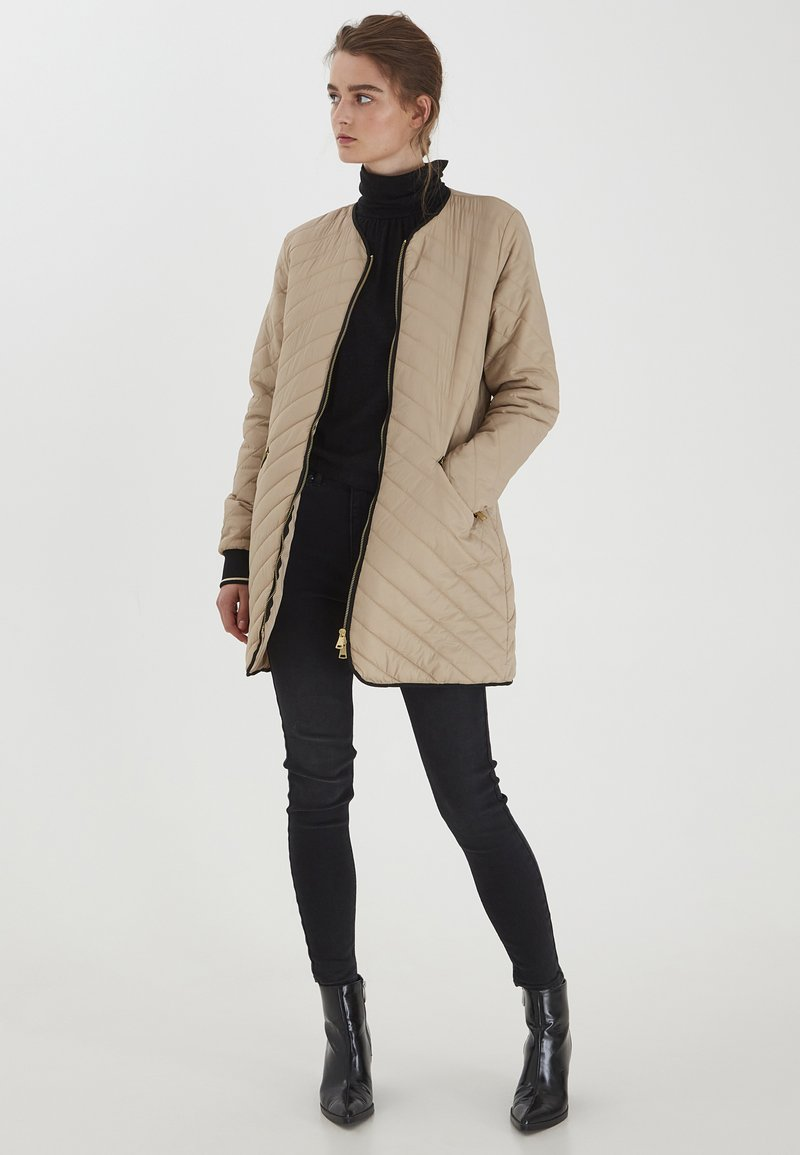 b.young - BYBERTA  - Winter coat - sesam