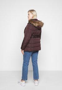 New Look Curves - ELLIE PUFFER - Parka - dark burgundy - 2