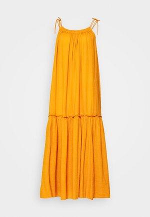 RAIA PLAIN - Maxi dress - curry