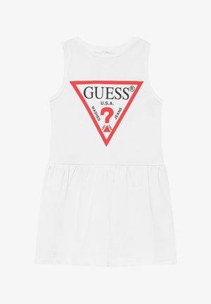 SLEVELESS DRESS PANTIE CORE - Jerseyklänning - blanc pur