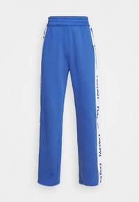 Missguided - PLAYBOY SPORTS WIDE LEG - Tracksuit bottoms - navy - 3