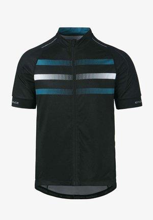 BRANTUL M CYCLING S BIKE - Print T-shirt - blue sapphire