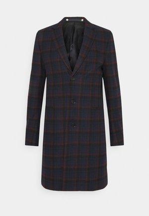 MENS OVERCOAT - Zimní kabát - dark blue/red