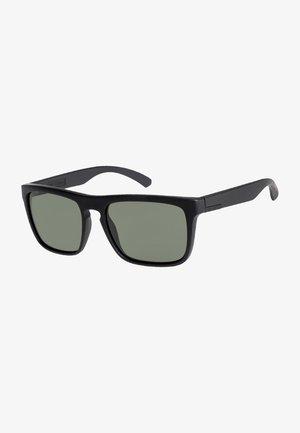 THE FERRIS PREMIUM - Sunglasses - matte black/mineral glass gree