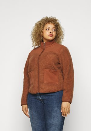 PCSADIE - Fleece jacket - mocha bisque