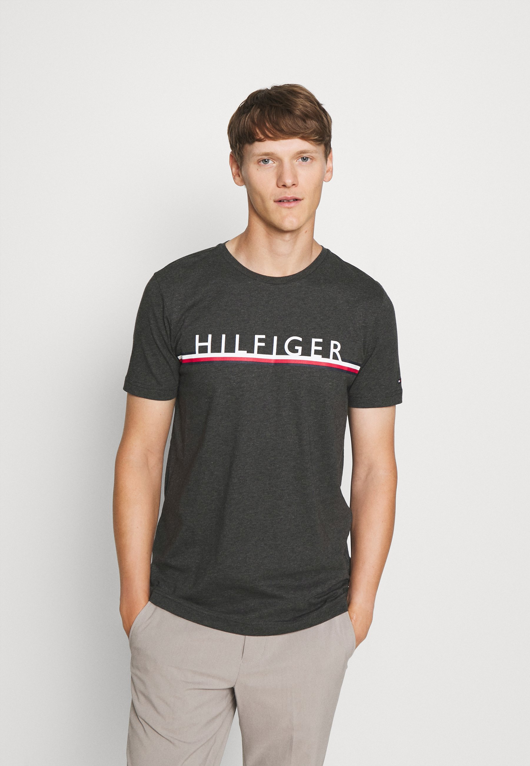 Herren CORP STRIPE TEE - T-Shirt print