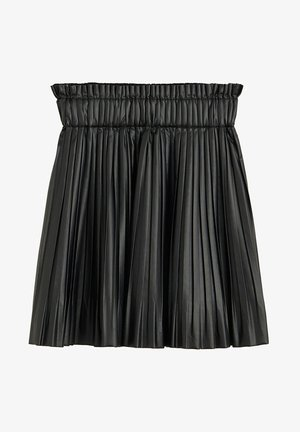 MATI - Pleated skirt - schwarz