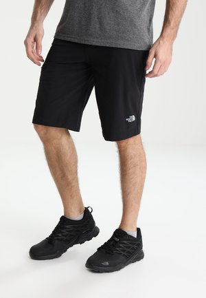 SPEEDLIGHT SHORT - Korte broeken - black/black