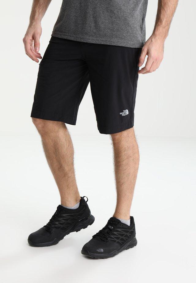 SPEEDLIGHT SHORT - Sportovní kraťasy - black/black