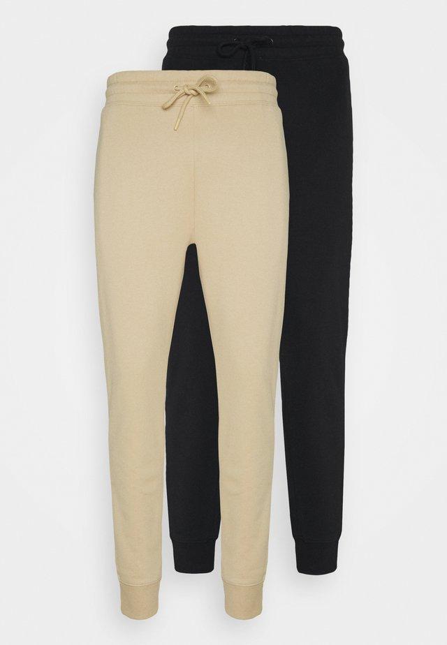 2 PACK UNISEX - Pantaloni sportivi - black