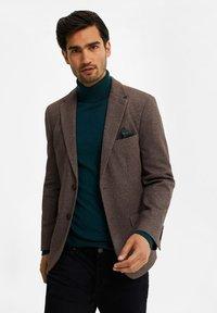 WE Fashion - Blazer jacket - brown - 3