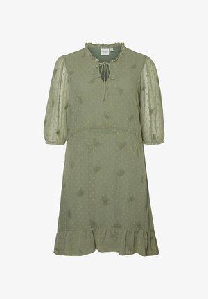 Vestito estivo - hedge green