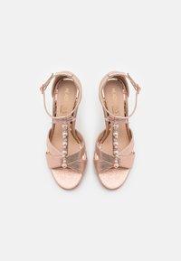 Head over Heels by Dune - MELODIEE - Sandalias - pink metallic - 5