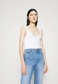 Miss Selfridge - EYELASH - Top - cream - 0