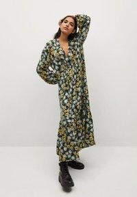Mango - CRIS - Maxi dress - schwarz - 0