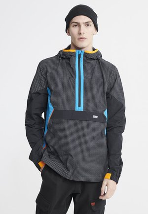 SUPERDRY CITY NEON OVERHEAD CAGOULE - Windbreaker - rich navy