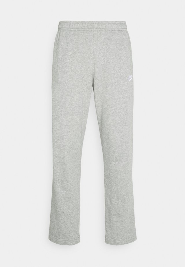 CLUB PANT - Jogginghose - grey heather/matte silver/white