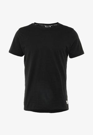 CENTRE REGULAR TEE - Basic T-shirt - black beauty