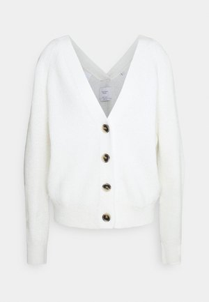 ROUND SLEEVESHAPE - Cardigan - natural white