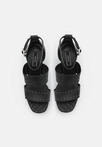 Liu Jo Jeans - HEBE  - Platform sandals - black - 5