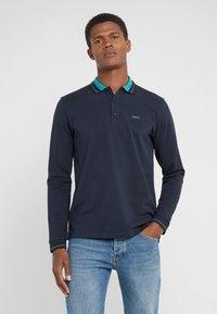 HUGO - DONOL - Koszulka polo - dark blue - 0
