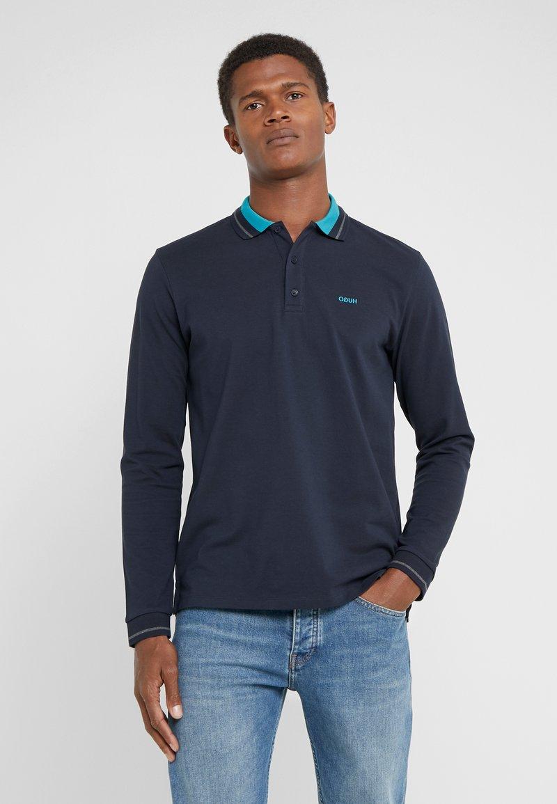 HUGO - DONOL - Koszulka polo - dark blue