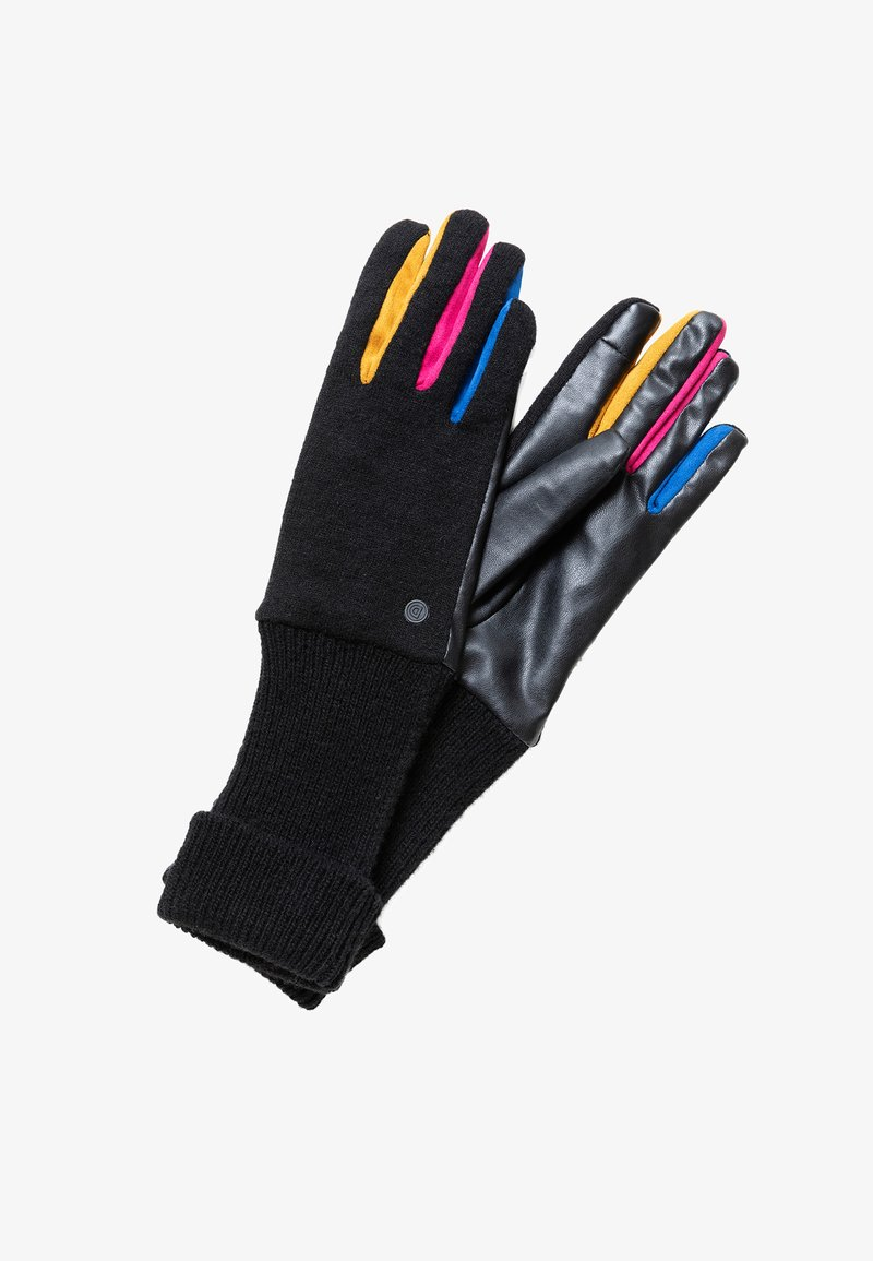 Desigual - GLOVES_FUN - Handsker - black