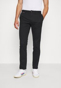 Tommy Hilfiger - DENTON  - Chino - black - 0