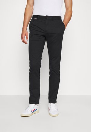DENTON  - Pantalones chinos - black