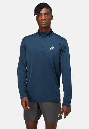 CORE LS 1/2 ZIP TOP - Long sleeved top - french blue