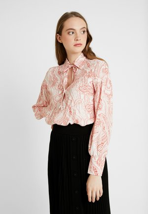 TAIKA - Button-down blouse - red