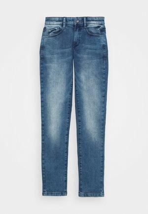 HOSE LANG - Jeans straight leg - blue