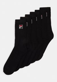 Fila - 6 PACK - Socks - black - 0