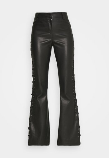 LACE UP FLARES