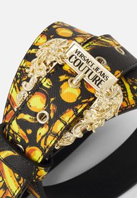 Versace Jeans Couture - REGALIA BAROQUE BELTS - Riem - nero/oro - 2