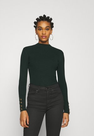 JDYPLUM CUFF BUTTON - Jumper - scarab