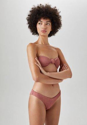 BIKINIHÖSCHEN IN V-FORM - Bikiniunderdel - rose
