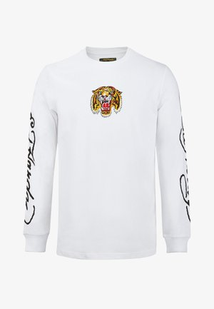 TIGER LOS LONG SLEEVE T-SHIRT - Long sleeved top - white