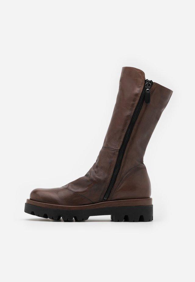 ASTRID - Stivali con plateau - sidney brown