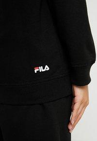 Fila Petite - PURE HOODY - Felpa con cappuccio - black - 5