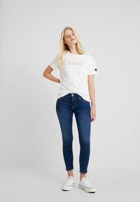 Replay - NEWLUZ ANKLEZIP - Jeans Skinny Fit - mediumblue - 1