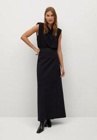 Mango - COFI7-A - A-line skirt - zwart - 1