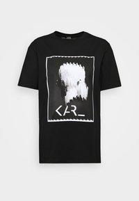 LEGEND - Camiseta estampada - black