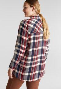 Esprit - Button-down blouse - navy - 2