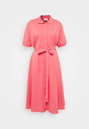 Shirt dress - amaryllis