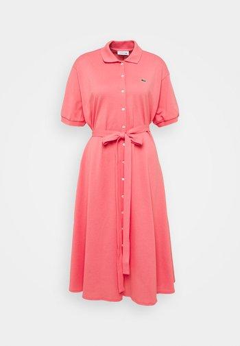 Shirt dress - amaryllis